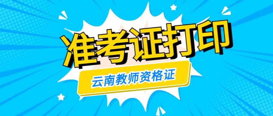 云南红河教师资格证